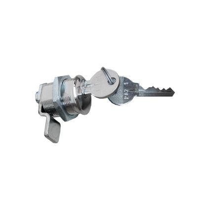 zámok s otočnou strelkou FAB 2034, cylidriká ložka so závitom v telese