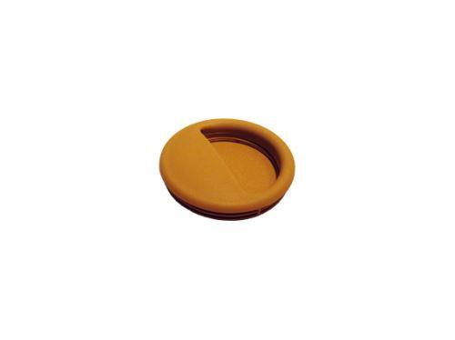 nábytková úchytka plastová do posuvných dveří, zápustné kulaté madlo Gala, průměr 50mm