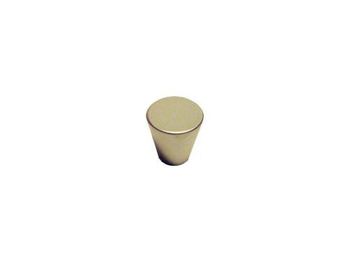nábytková úchytka, kovová knobka kužeľ 37251, matný chróm