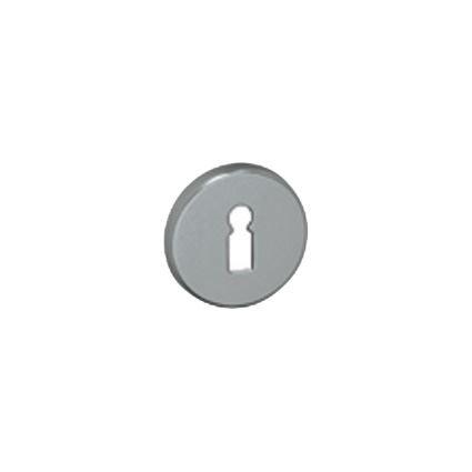 kroužek pod kliku, elox AL, pár, kulatý, se skrytou montáží, ke eloxovaným klikám