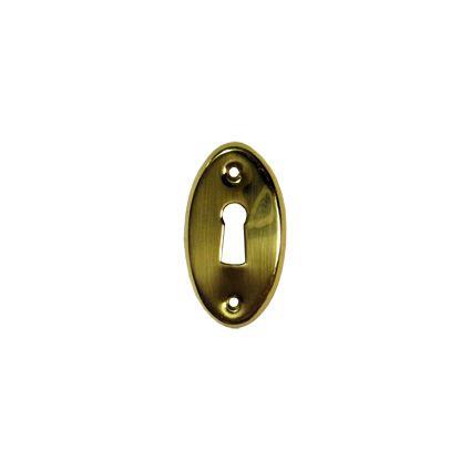 spodní rozeta - kolečko pod dveřní kliku nebo kouli Bernat, oválná, 1ks