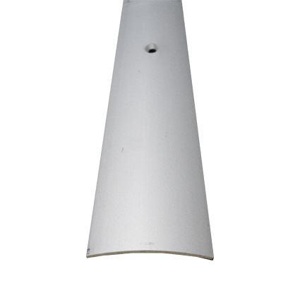 podlahový prechodový profil na priskrutkovanie, eloxovaný hliník, šírka 50mm