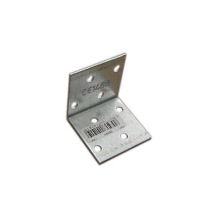 úhelník pro přichycení trámůpři montáži KM bez prolisu, bílý zinek
