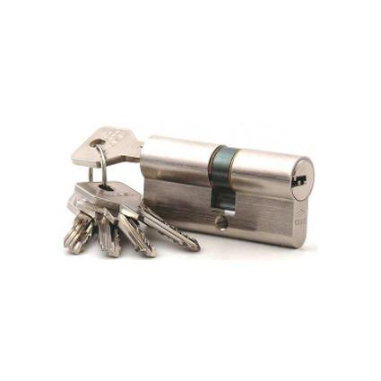 zkrácená cylindrická vložka CISA, 2. třída bezpečnosti, 3 klíče