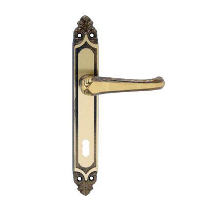 retro kování na vnitřní dveře, klika se štítem IKARUS
