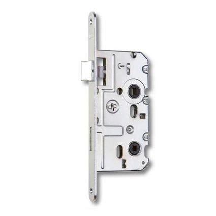 zadlabávací dverný zámok na WC kľučku Hobes K222