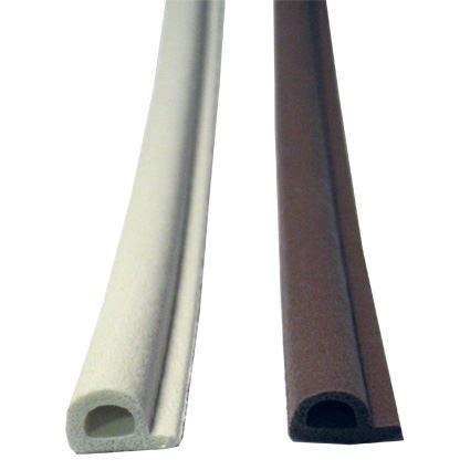 samolepící silikonová těsnící páska ELLEN na okna a dveře, pro šířku spáry 3 až 5mm, profil P