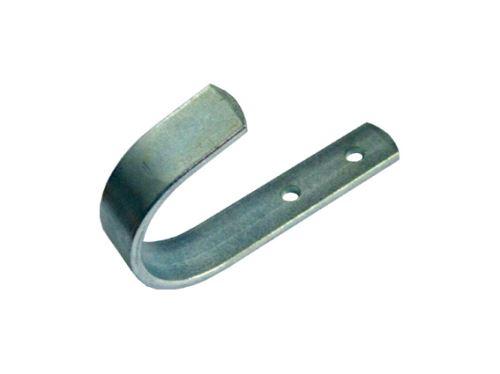 dielenský vešiak, nábytkový háčik kovový, na stenu, jednoháček plochý HMÚ