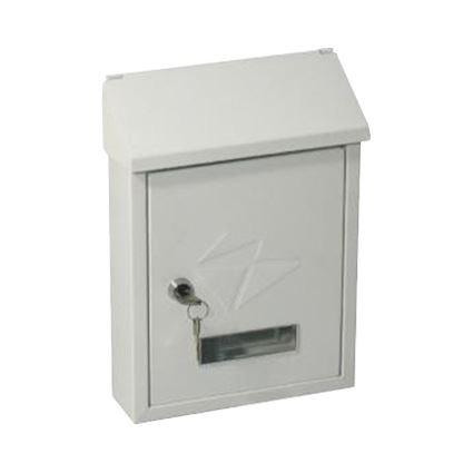 poštovní schránka CT3 (Erik) 210x300x60 kovová bílá