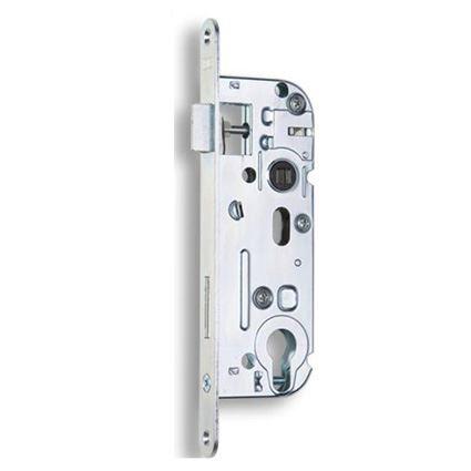 zadlabací dveřní zámek na vložku Hobes 02-04, osa 40mm