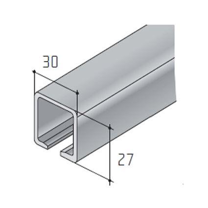 kovanie k posuvným dverám skriňovým a interiérovým, horný závesný pojazd, do 40 a 100 kg