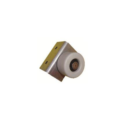 kolečko gumové neotočné k nábytku, postelím, zásuvkám F820, průměr 40mm, s bočním uchycením