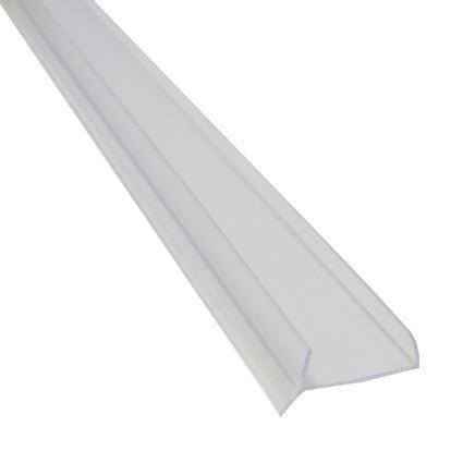 soklové tesnenie ku kuchynskej linke, priehľadná lišta na lamino 18mm, 3m