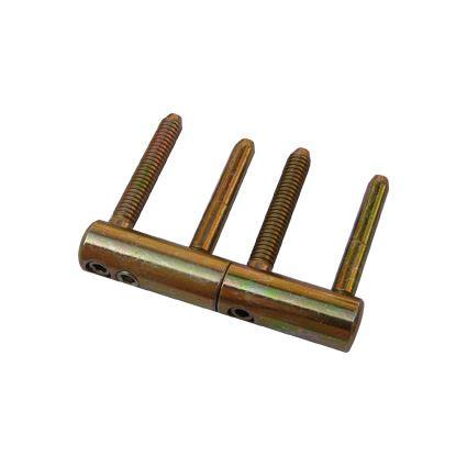 pánt skrutkovacie protipožiarne, záves dverový TRIO 20 DZ PH, TKZ 9683, zinok