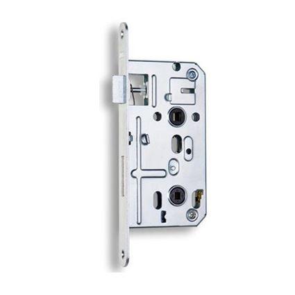 zadlabávací dverný zámok na WC kľučku Hobes K135
