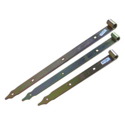 pánt, záves bránový, pásový, žltý zinok, pre čap 10 a 13mm