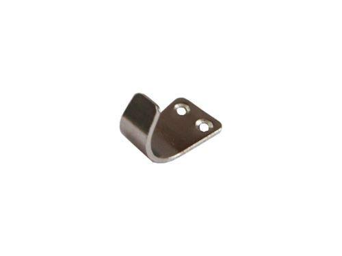 šatní věšák, nábytkový háček kovový, na stěnu, jednoháček plech malý