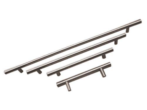 nábytková úchytka (madlo, hrazda) kovová, průměr tyčky 12mm, v osmi různých délkách