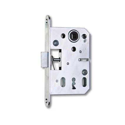 zadlabávací dverný zámok na obyčajný kľúč Hobes K051, na staré dvere