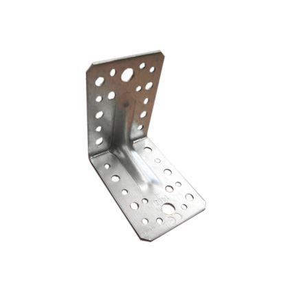 úhelník pro spojení trámů s prolisem proti deformaci KP, bílý zinek