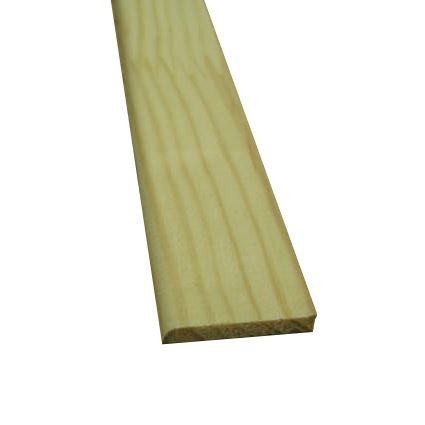drevená nastavovaná lišta borovica plochá jednostranná SP, cena za 1 ks