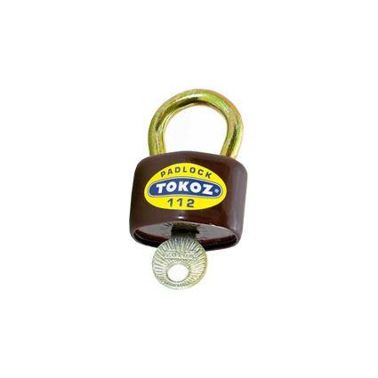 visiaci zámok TOKOZ 112/50, pre vonkajšie prostredie, 3 kľúče