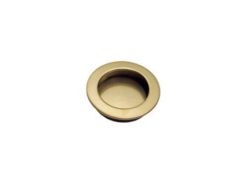 nábytková úchytka kovová do posuvných dverí, zápustné guľaté madlo 3554 ..., priemer 42mm