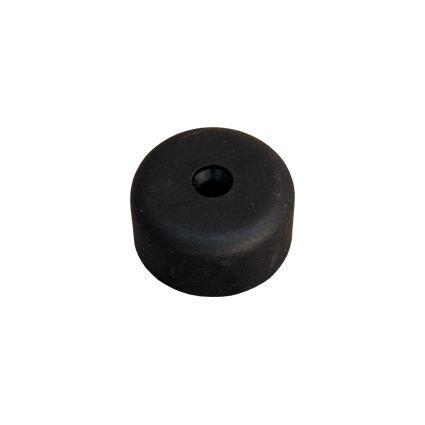 klzná nôžka pod nábytok kruhová s otvorom pre skrutku, plastový, výška 20mm, priemer 40mm