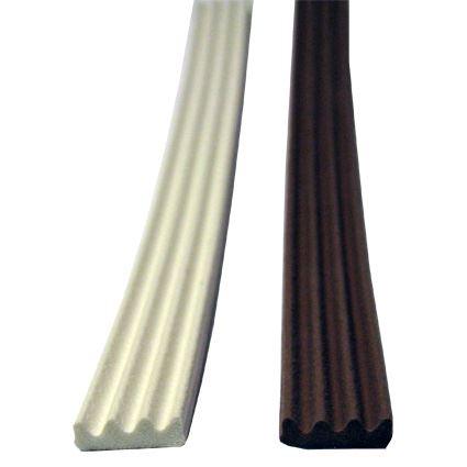 samolepící silikonová těsnící páska ELLEN na okna a dveře, pro šířku spáry 2 až 3mm, profil K