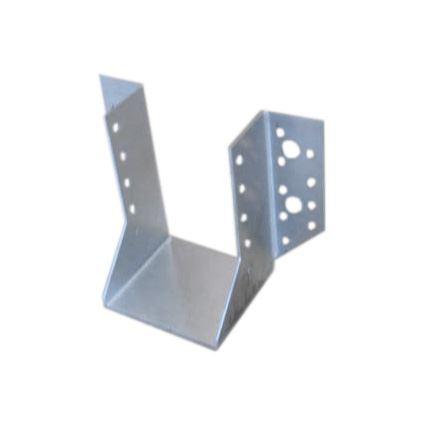 spojovací botka pro trámové konstrukce otevřená WB, bílý zinek