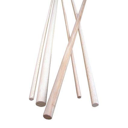 spojovací týble, dřevěná tyčka, délka 100cm, buk