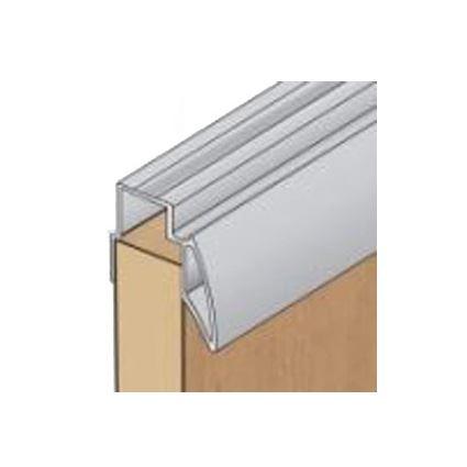 hliníková nábytková lišta bočná s úchytom k posuvným dverám, hr. 18mm, AL madlo ku skrini S04, dĺžka 2,7m