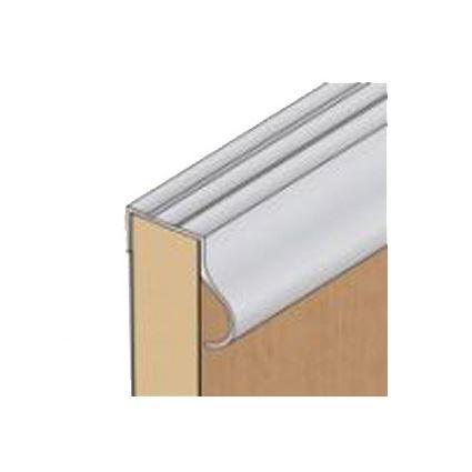 hliníková nábytková lišta boční s úchytem k posuvným dvěřím, tl. 18mm, AL madlo ke skříni S13, délka2,7m