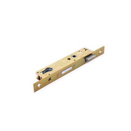 zadlabací dveřní zámek na vložku Hobes K411, úzký do jeklu