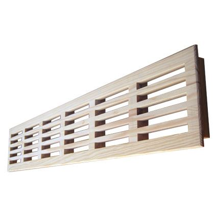 mreža drevená vetracia nábytková, LG 100x550 nelakovaná