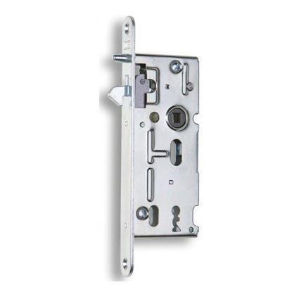 zadlabávací zámok s háčikom na posuvné dvere Hobes K106