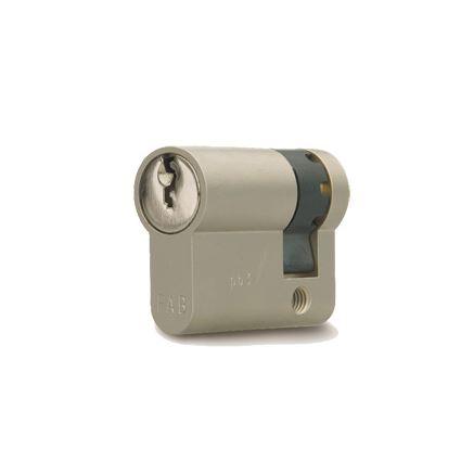 jednostranná bezpečnostní cylindrická vložka FAB 201 RSD 29+10mm, 3. třída bezpečnosti,  3 klíče