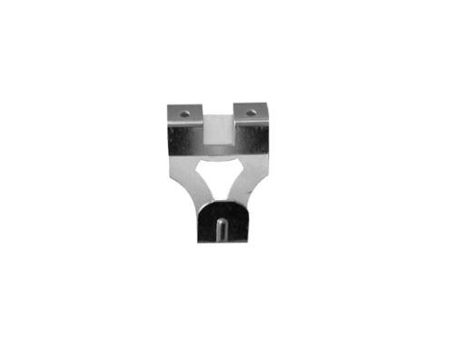 háčik s oceľovým klincom do steny IXA 40425, biely zinok