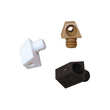 kocka, plastový nábytkový spojovací element