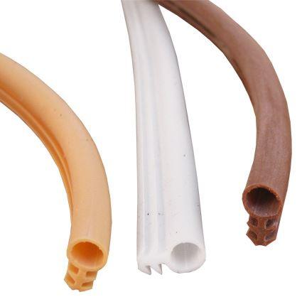 silikonová těsnící páska do frézované drážky s trnem Sillen B1, na dveře a okna, průměr 6mm