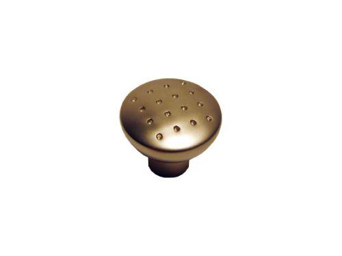 nábytková úchytka, kovová knobka Jaro, 3 farby