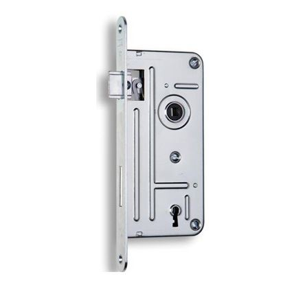 zadlabací dveřní zámek na dozický klíč Hobes 548A