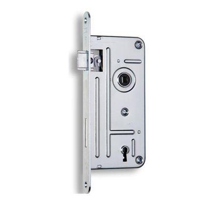 zadlabávací dverný zámok na dózický kľúč Hobes 548A