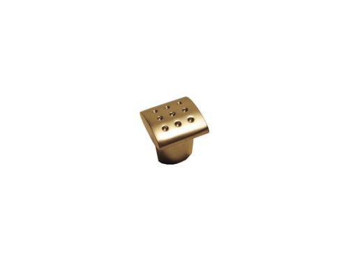 nábytková úchytka, kovová knobka štvorcová 12621, 12622