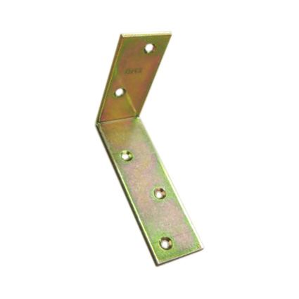úhelník pro spojení trámů zesílený KB, žlutý zinek