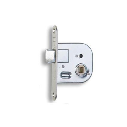 zadlabávací medziizbový zámok na WC kľučku Hobes 01-08, na panelákové dvere k jadru