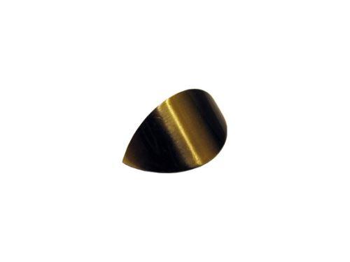 nábytkový úchyt, kovová mušle 7532, 32mm, BR, DOPREDAJ (posledných 14 ks)