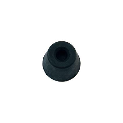 dveřní zarážka, dveřní doraz gumový, černý