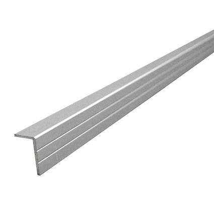 hliníková nábytková lišta rohová, vnější rozměr 11x17mm