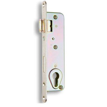 zadlabávací dverný zámok s valčekom Hobes G222